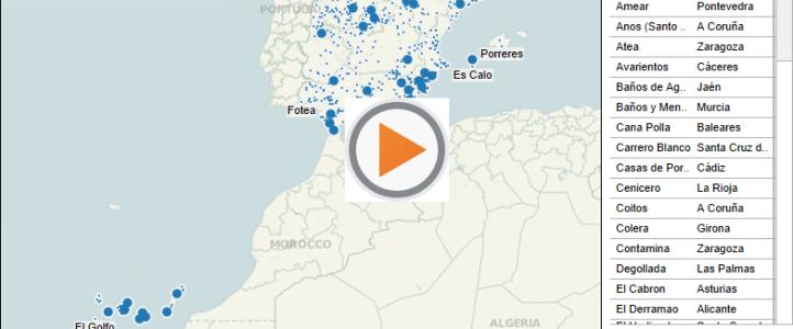 De El Paraiso a Infierno, topónimos curiosos de la geografía española
