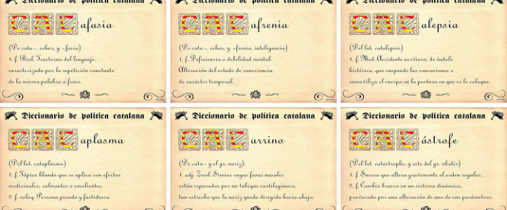 Diccionario político catalán